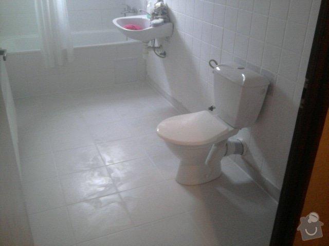 Rekonstrukce dlažby v koupelně: Fotografie1178