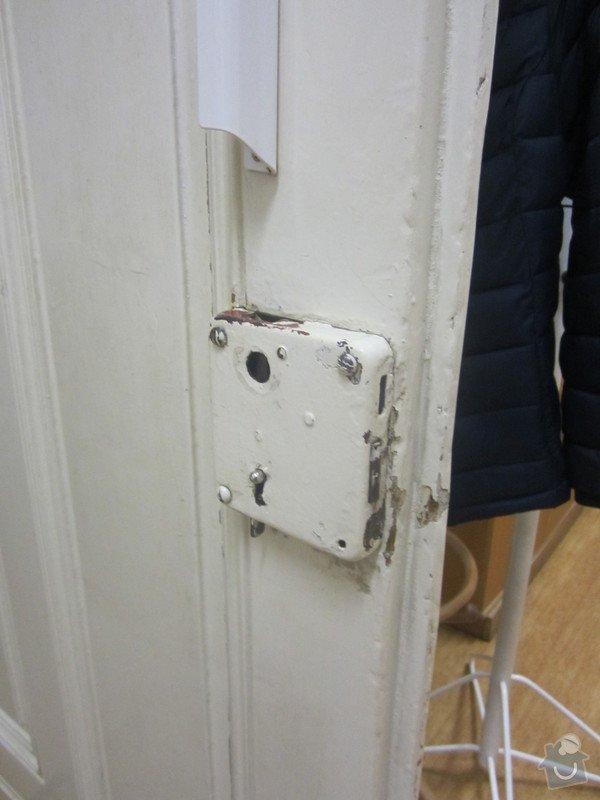 Truhlářské práce -oprava dveří + zárubně a zámku: rijen_2014_179
