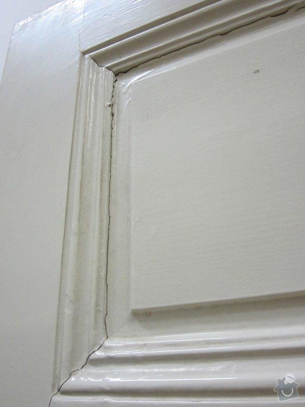 Truhlářské práce -oprava dveří + zárubně a zámku: rijen_2014_184