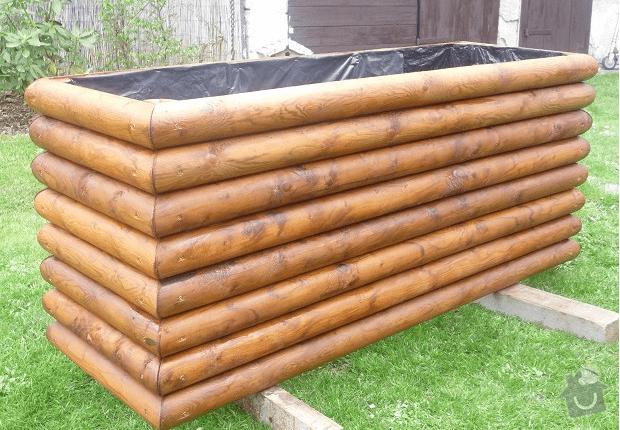 Výroba dřevěných masivních obalů na květináče - Truhlarstvi: kvetinac