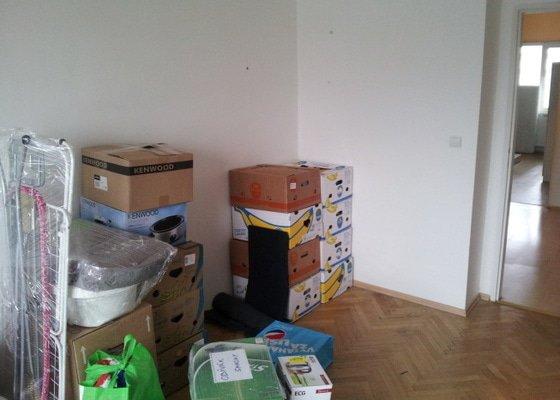 Stěhování bytu 2+1 z Vysočan do Kobylis