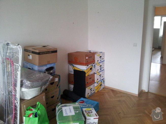 Stěhování bytu 2+1 z Vysočan do Kobylis: 20141116_100128