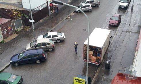 Stěhování bytu 2+1 z Vysočan do Kobylis: 20141116_100145