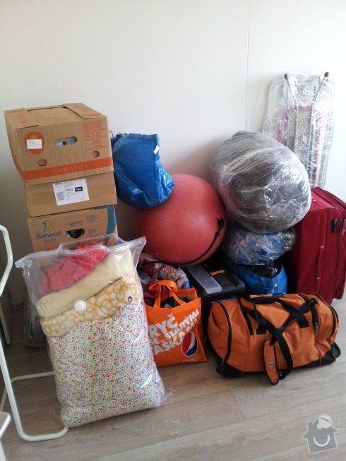 Stěhování bytu 2+1 z Vysočan do Kobylis: 20141116_124321