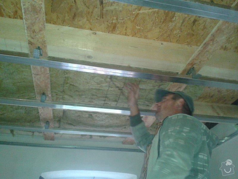 Zhotovení stropu+plovoucí podlahy+sádrokarton: 20141022_101545
