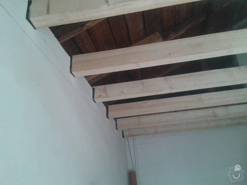 Zhotovení stropu+plovoucí podlahy+sádrokarton: 20141021_141027