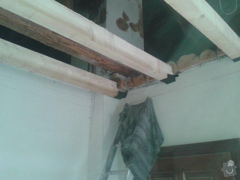 Zhotovení stropu+plovoucí podlahy+sádrokarton: 20141021_140953