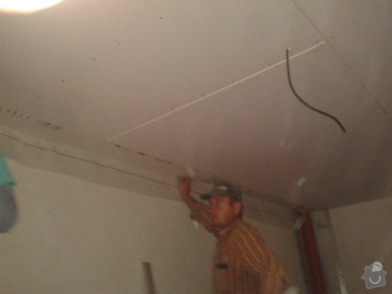 Zhotovení stropu+plovoucí podlahy+sádrokarton: 20141022_142746