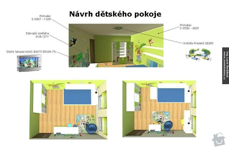 Návrh interiéru dětského pokoje: Detsky_pokoj_02