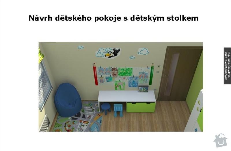 Návrh interiéru dětského pokoje: Detsky_pokoj_05