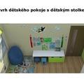 Navrh interieru detskeho pokoje detsky pokoj 05