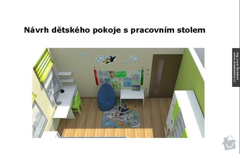 Návrh interiéru dětského pokoje: Detsky_pokoj_11