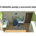 Navrh interieru detskeho pokoje detsky pokoj 11