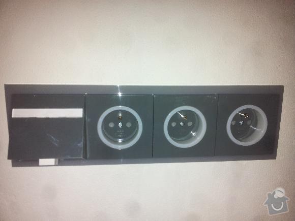 Nová elektroinstalace panelového bytu 3+1: bedrichovska