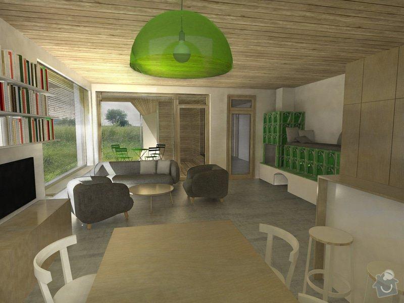 Návrh rodinného domu: 02_interier