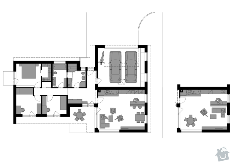 Návrh rodinného domu: 04_pudorys_zp