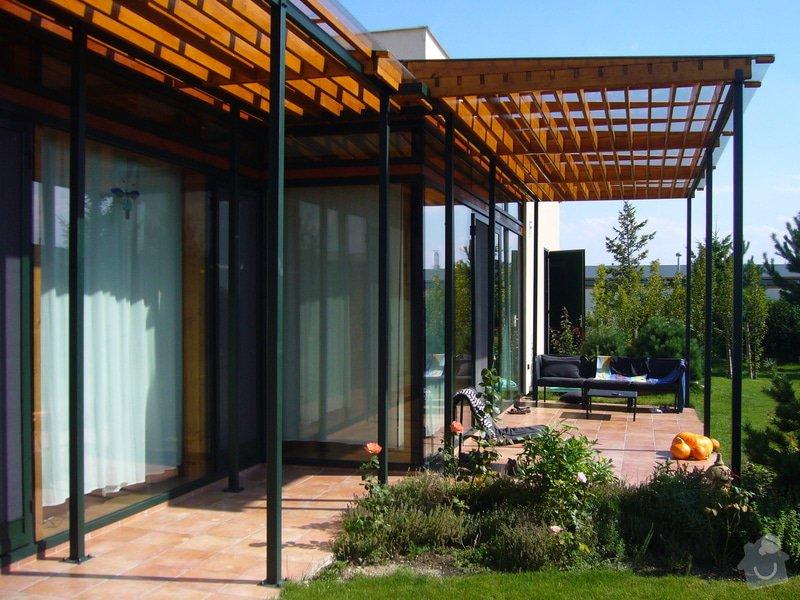 Návrh pergoly k terase rodinného domu: 03_foto