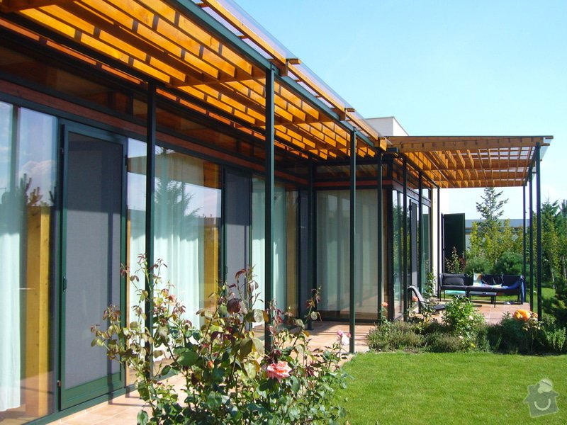 Návrh pergoly k terase rodinného domu: 04_foto