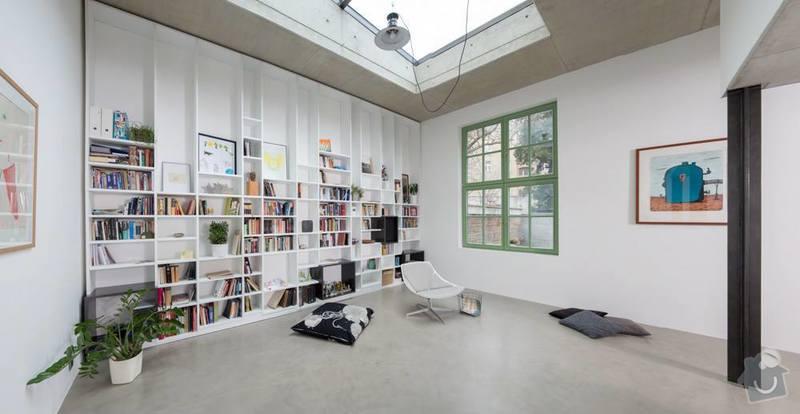 Betonová podlaha s podlahovým topením: 2