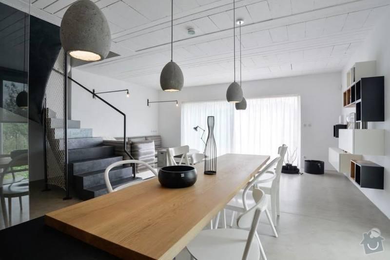 Betonová podlaha s podlahovým topením: 3