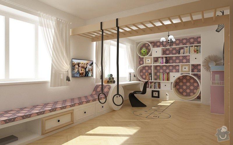 Výrobu dětského pokoje - pouze pro zkušené truhláře: E01