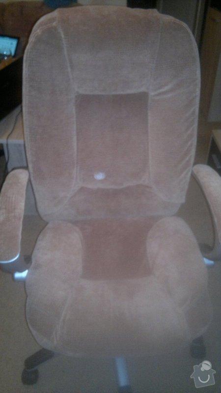 Přečalouněni kancelářske židle: 2014-11-10-445