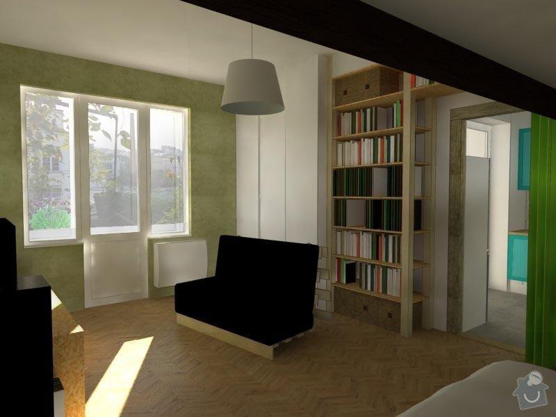 Návrh interiéru bytu: 01_hlavni_mistnost