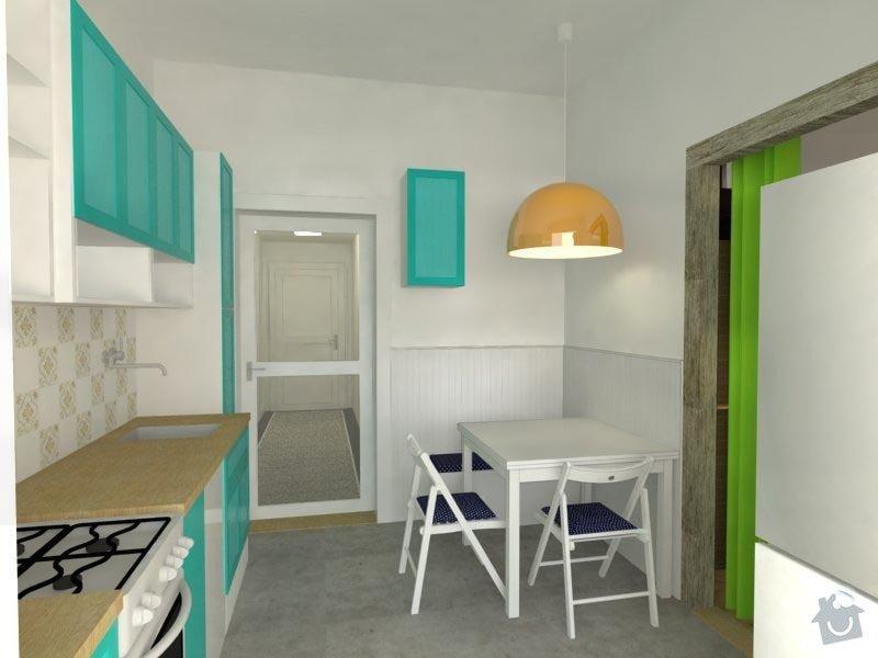 Návrh interiéru bytu: 02_kuchyn