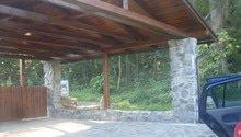 Kamenný plot ,garáž