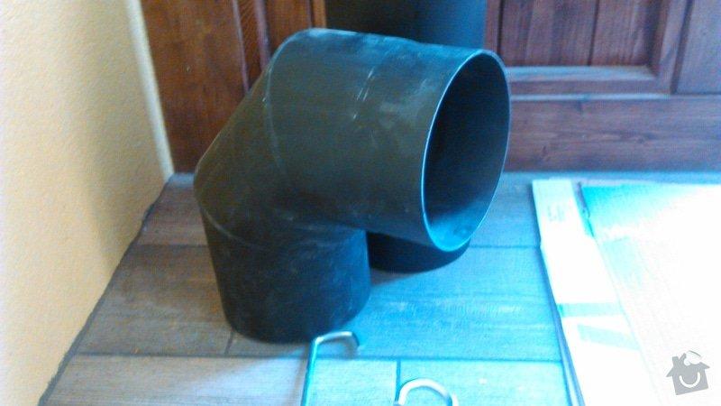 Napojeni krbu do komina: DSC_0023