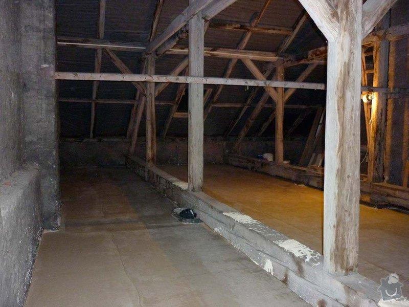 Sádrokartonová stavba+izolace: P1050069