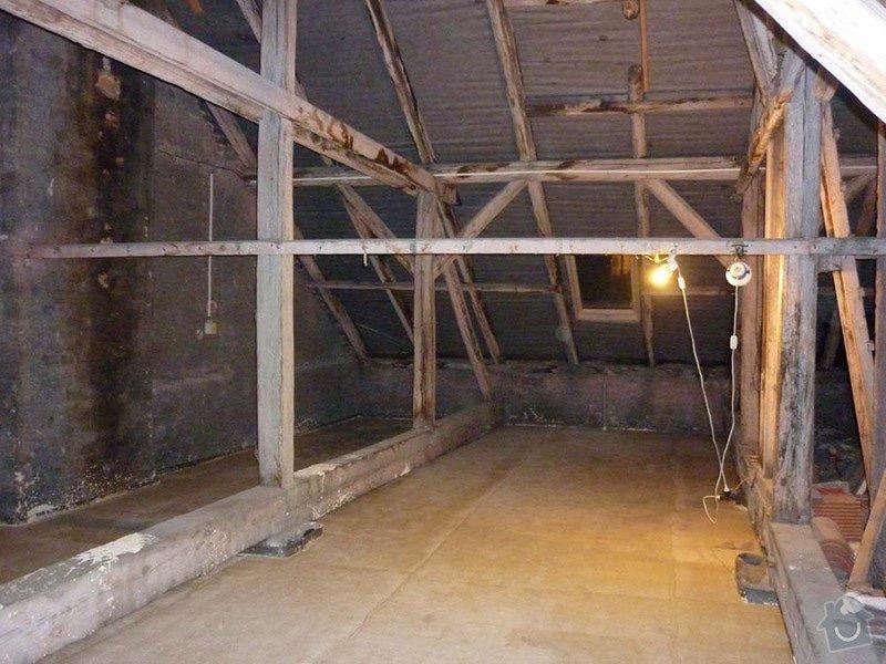 Sádrokartonová stavba+izolace: P1050068