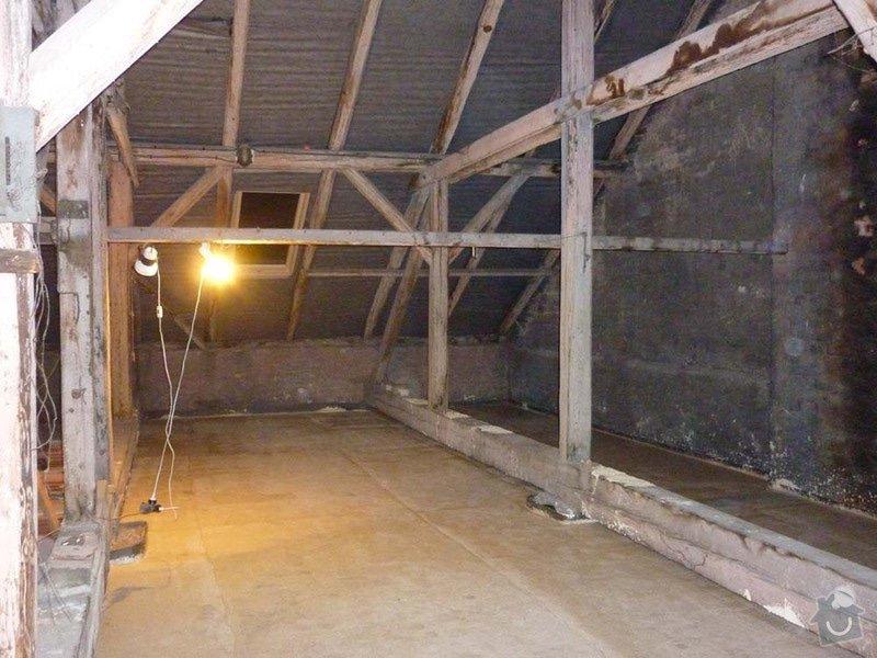 Sádrokartonová stavba+izolace: P1050066