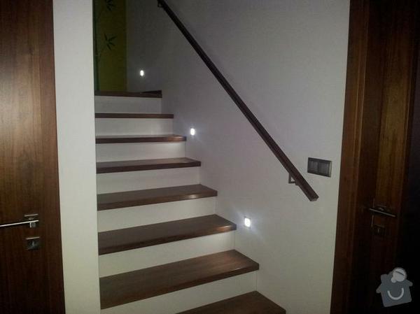 Dřevěné schodiště: predstava