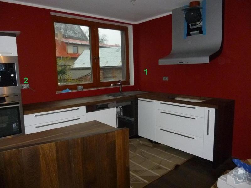 Sklo za kuchyňskou linku - atypická: 1a2