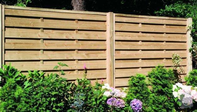 Výroba oplocení pozemku 60,5m: plot