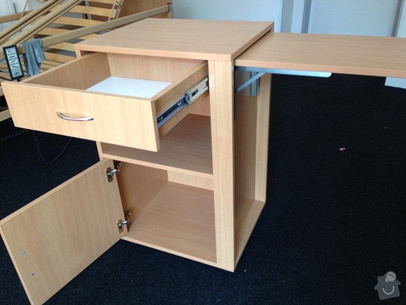 Výroba 130 ti kusů nočních stolků s jídelní deskou: obrazek_3_