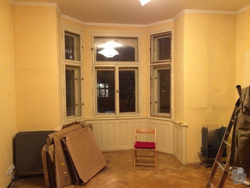 Truhlařina - Rekonstrukce ostění v arkýři: IMG_1842