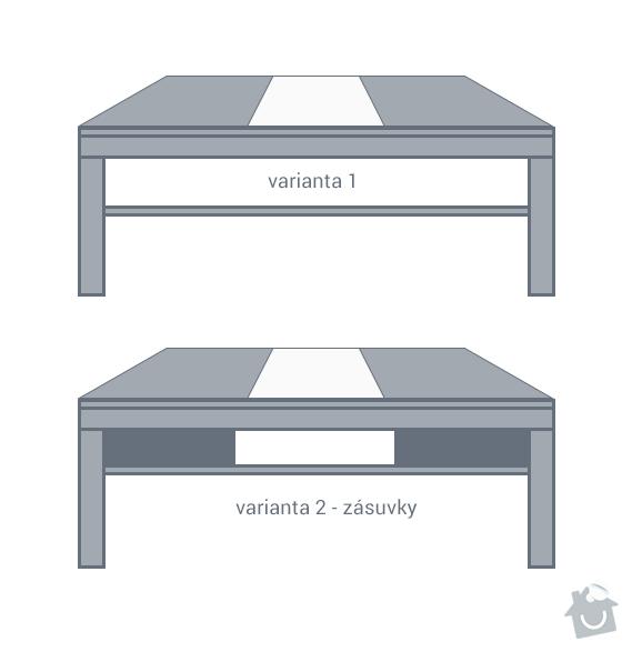Výrobu konferenčního stolku: stolek