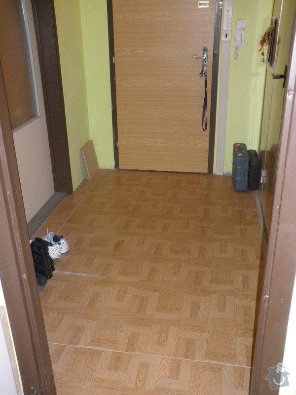 Pokladka dlažby síň panel.bytu 6m2 : PB241290