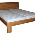 Manzelska postel z masivu ze smrku 4