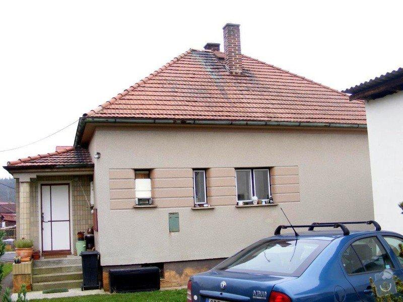 Přeložení střechy novou krytinou - Horní Bříza: DSCF0016