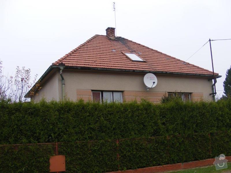 Přeložení střechy novou krytinou - Horní Bříza: DSCF0017
