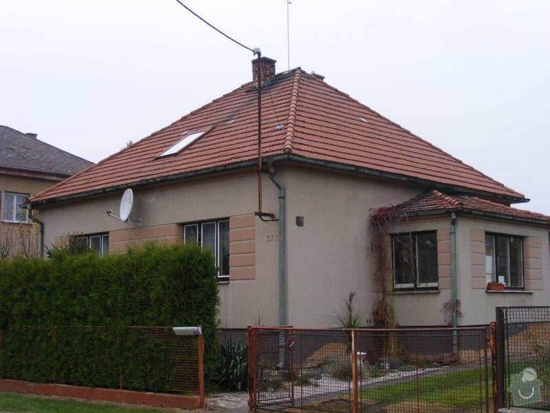 Přeložení střechy novou krytinou - Horní Bříza: DSCF0018