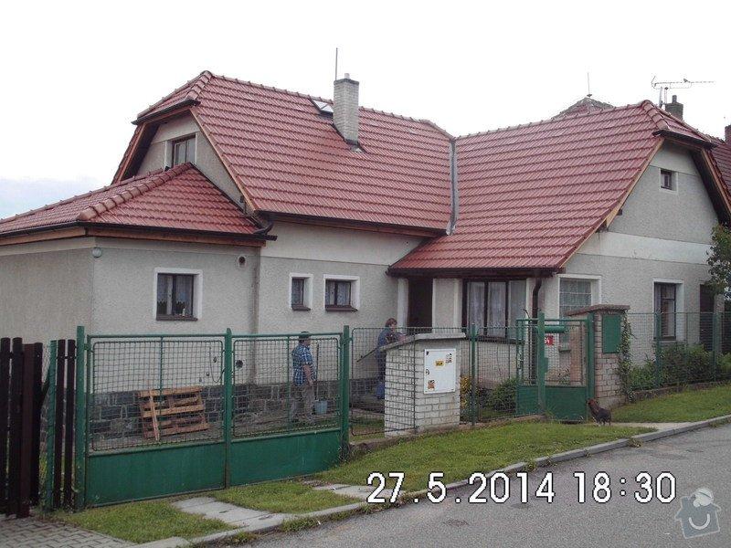 Instalaci hromosvodu na rodinný domek: IMG_0073