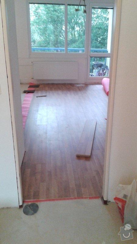 Instalace plovoucí podlahy : 2014-10-24_10.03.14