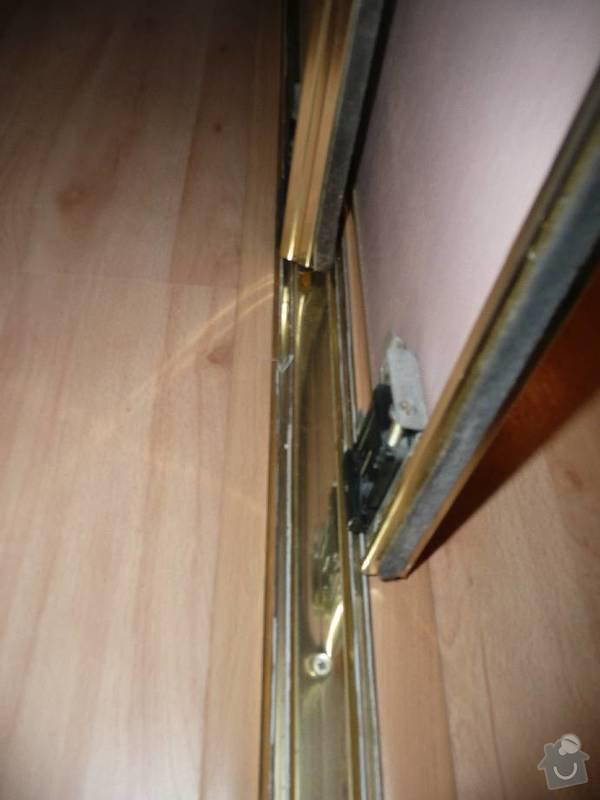 Vymena kování pro posuvné dveře ke skříním: image001