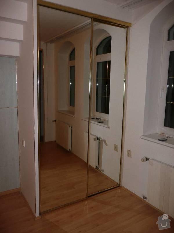Vymena kování pro posuvné dveře ke skříním: image003