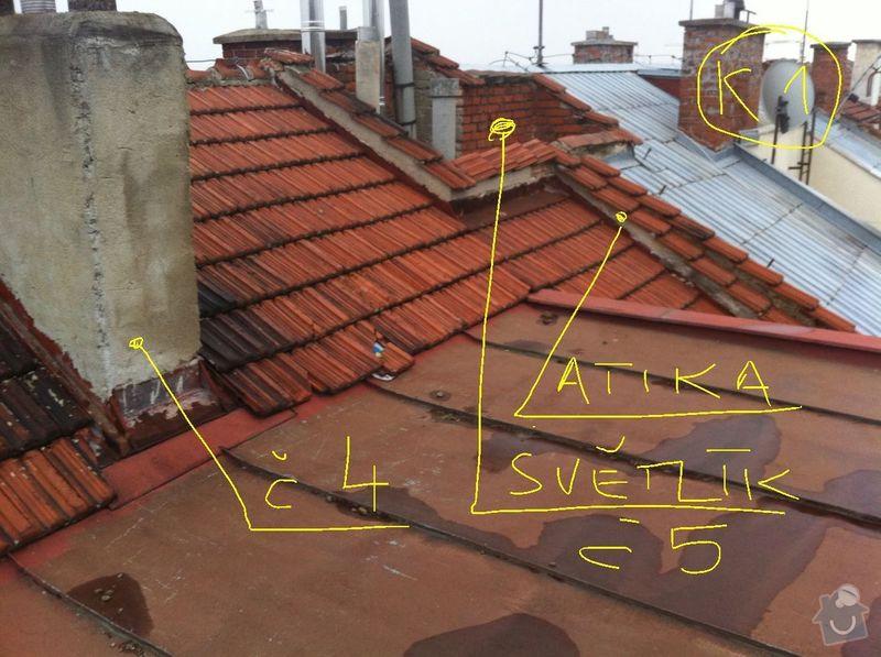 Oprava střechy bytový dům Brno: foot_K1-p1