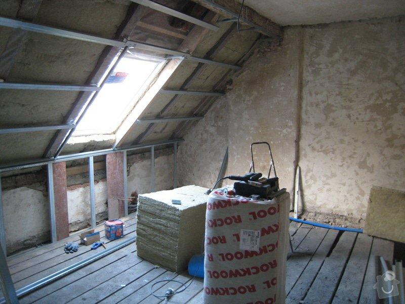 Rekonstrukce podkrovního bytu: IMG_0341